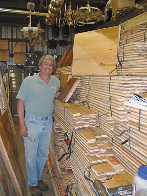 NW Renovation McGee Salvage Reclaims Hardwood Flooring